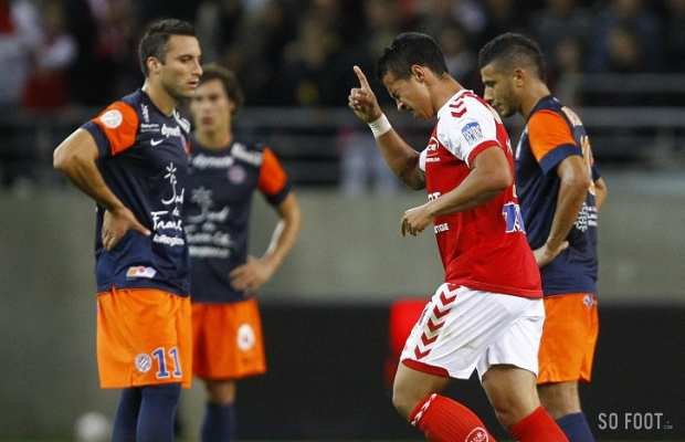 Reims vs Montpellier 3-1 Les Buts 14 | 09 | 2012 goals